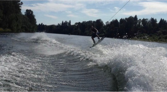 Cody wakeboarding picture