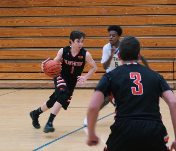 Isaac playing Basketbal