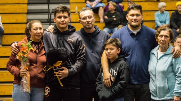 Wrestling Senior Night January 25, 2018 - 11
