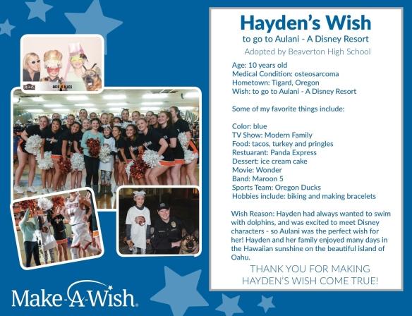 Hayden_s Wish
